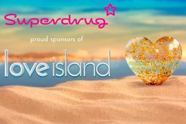 Superdrug love island