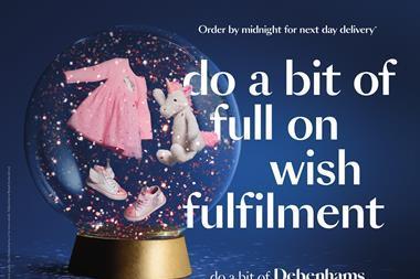 Debenhams christmas ad do a bit of Debenhams