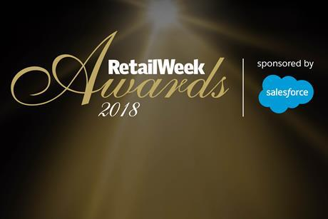 Retail week awards 2018 index
