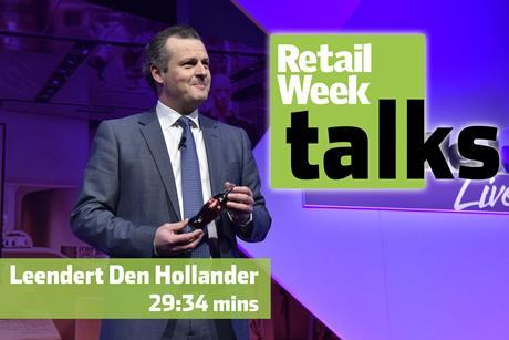 Leendert Den Hollander Retail Week Live 2016