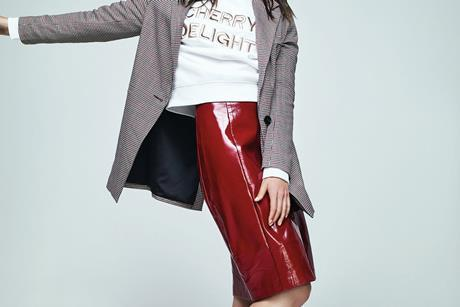 New Look Vinyl skirt INDEX