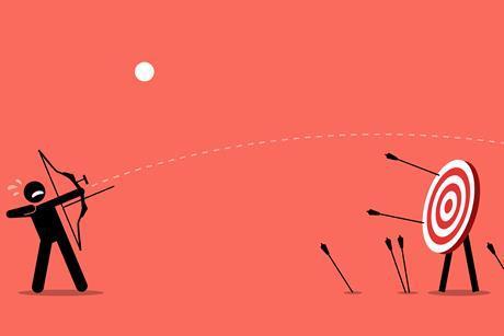 archer missing target