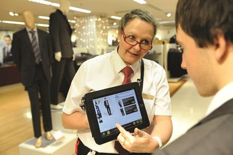 Staff should help customers buy goods online if they aren't available in-store