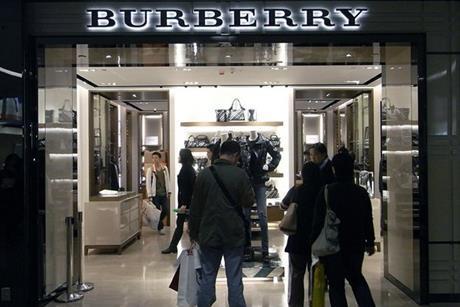Burberry UK sales fall