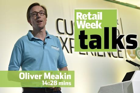 Oliver Meakin Retail Week Talks