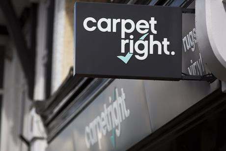Carpetright   newest store front