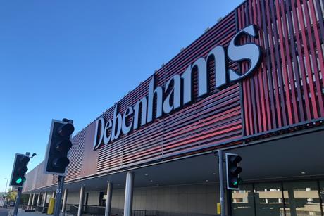 Debenhams store at Intu Watford features the retailer's new brand identity