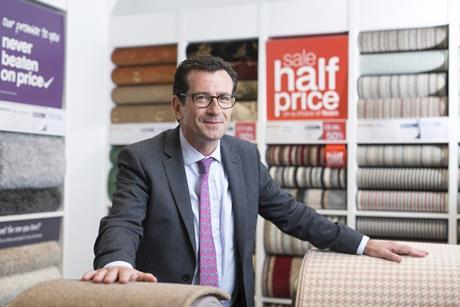 Carpetright   new Wilf Walsh