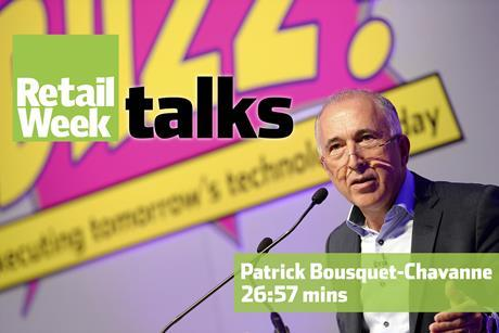 Patrick Bousquet Chavanne Retail Week Talks