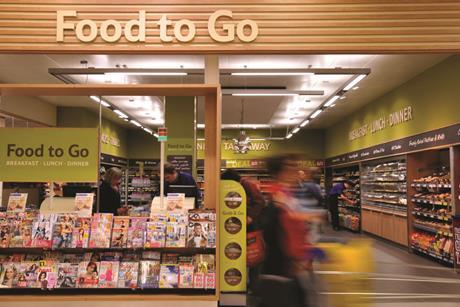 Consumers want to  grab food on the go and top-up on big shops