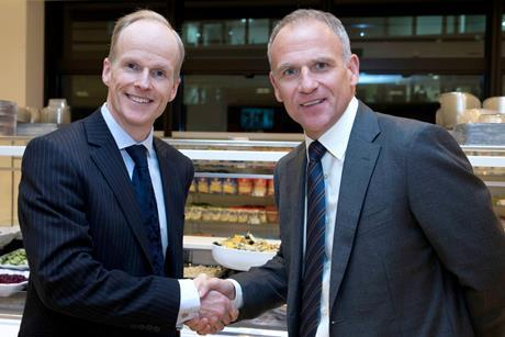 Tesco and Booker CEOs