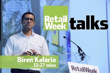 Biren Kalaria Retail Week Talks