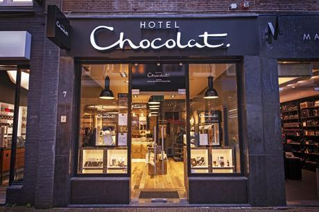 Hotel Chocolat's sales rose over Christmas