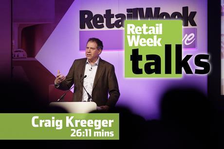 Craig Kreeger Retail Week Live 2016