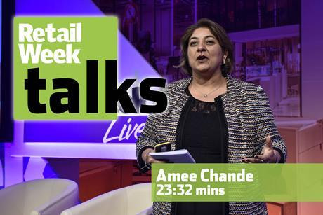Amee Chande Retail Week Live 2016