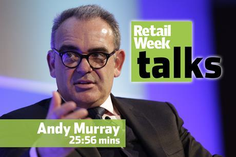 Andy Murray Retail Week Live 2016