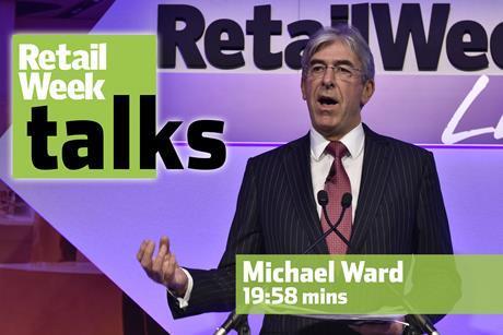 Michael Ward Retail Week Live 2016