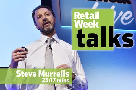 Steve Murrells Retail Week Live 2016
