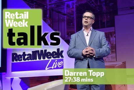 Darren Topp Retail Week Live 2016