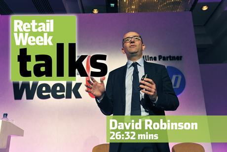 David Robinson – Retail Week Talks