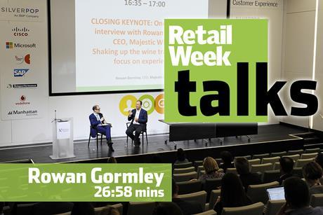 Rowan Gormley – Retail Week Talks