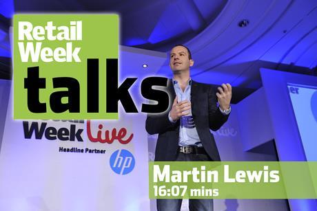 Martin Lewis – Retail Week Talks