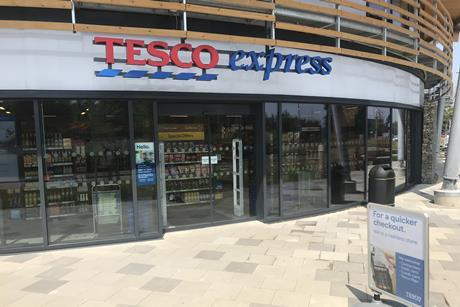 Tesco has opened its first cashless store at its Welwyn Garden City HQ.