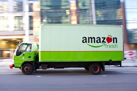 Amazon Fresh launched in the UK in June.