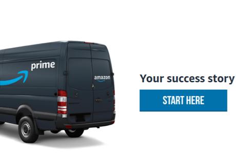 Amazon Prime van