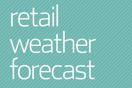 Retail weather forecast