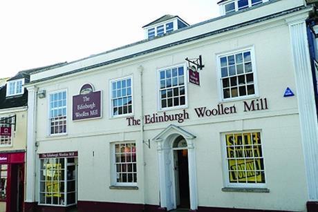 Edinburgh Woollen Mill has bought supplier Berwin & Berwin