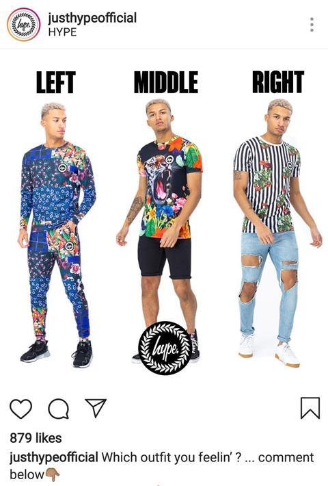 3d5da4cfe7a6 Hype is one of the fashion businesses gauging popularity for designs on  Instagram. ""