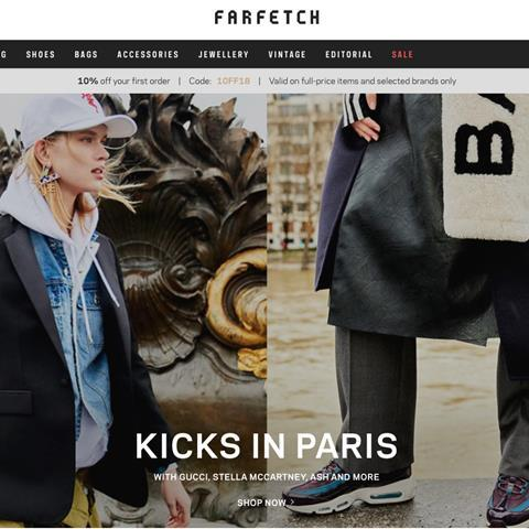 0c035f70d44f Farfetch is one of the fashion platforms producing editorial content