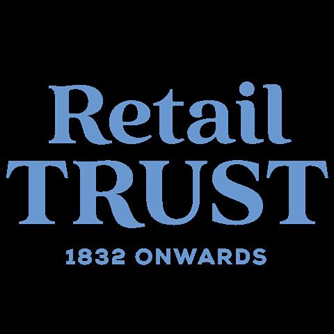 Retail Trust blue logo