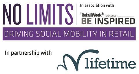 No Limits x Lifetime logo (September 2021)