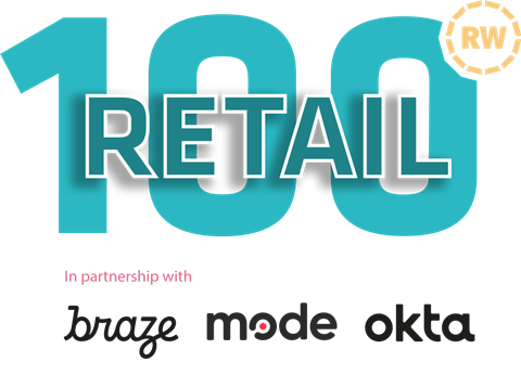 Retail 100 2021 logo with sponsors