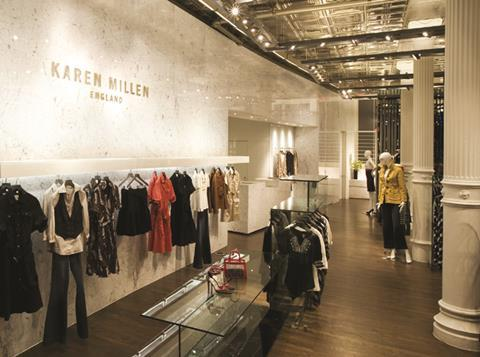 8fd3e1cd89 The retailer has shuttered some UK stores as it focuses growth abroad. The Karen  Millen ...