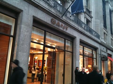 5695765e09 Swedish lifestyle label Gant opened its UK flagship store on London's  Regent Street on Friday. gant_regent_street.jpg