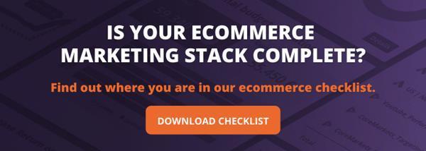Ecommerce Checklist CTA