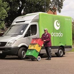 Ocado delivery street 1