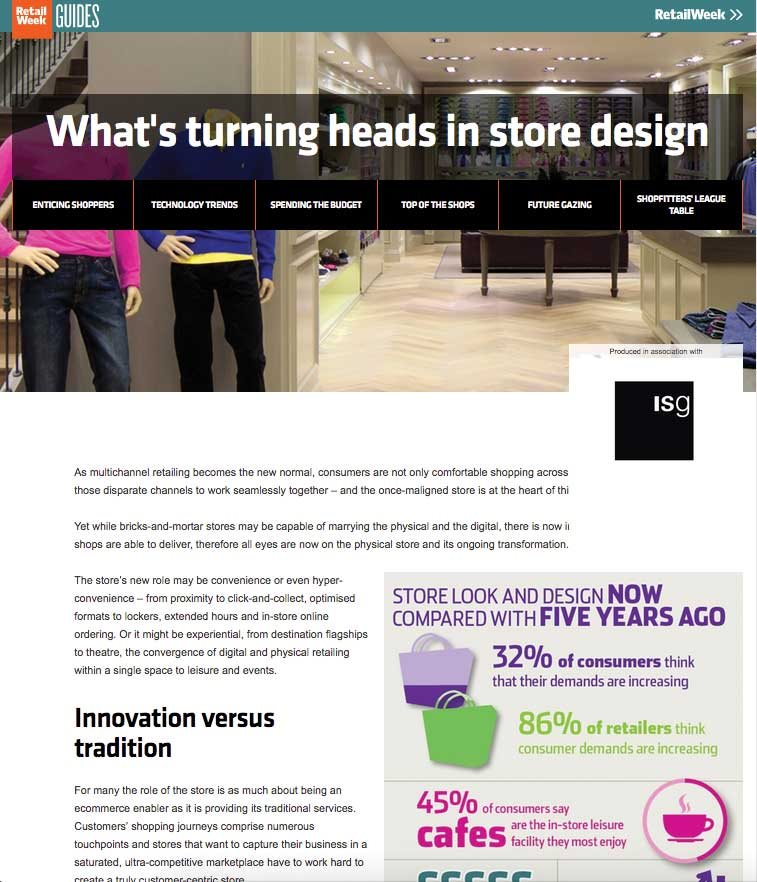 Turning heads in store design