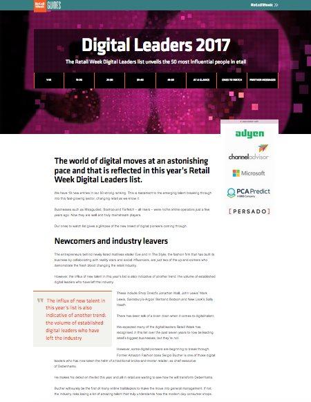 Digital Leaders 2017 cover