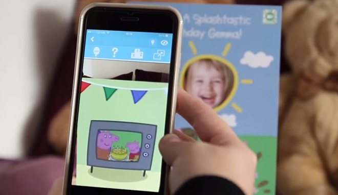 Moonpig has teamed up with Zappar on a range of personalised greetings cards and accompanying app.