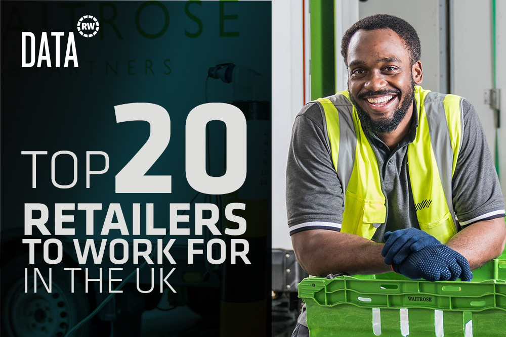 Top 20 retailers to work for in the UK